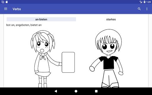 Deutsche Verben screenshots 16