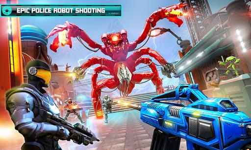 US Police Robot Counter Terrorist Shooting Games  Screenshots 5