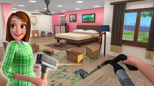 Real Family Simulator- Home Design  screenshots 1