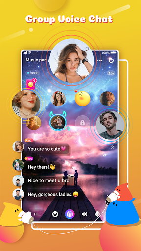 YoHo: Meet Your Friends in Voice Chat Room android2mod screenshots 2