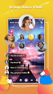 YoHo: Group voice chat, Live talk & ClubHouse Apk Download Free 2