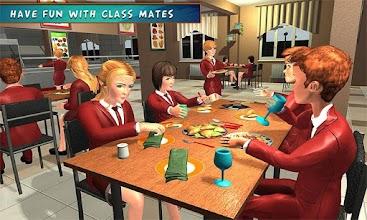 High School Girl Simulator: Virtual Life Game 3D screenshot thumbnail