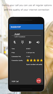MobileVOIP Cheap international Calls MOD APK (Unlimited Credits) 5