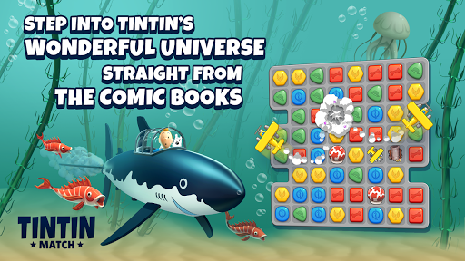 Tintin Match: Solve puzzles & mysteries together! screen 2
