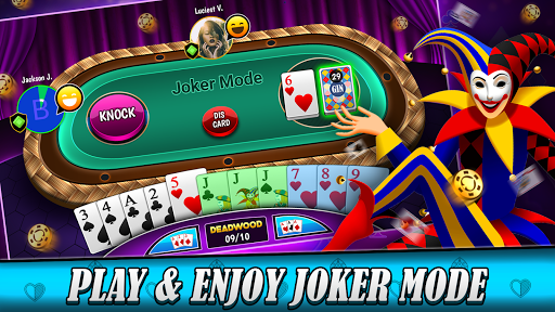 Gin rummy free Online card game 2.0.1 screenshots 2