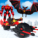 Flying Bat Robot Bike Transforming Robot Games