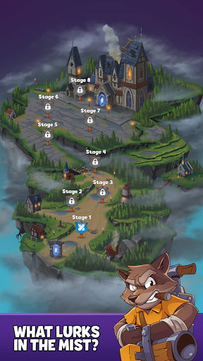 Heroes & Elements: Match 3 Puzzle RPG Game apkpoly screenshots 3