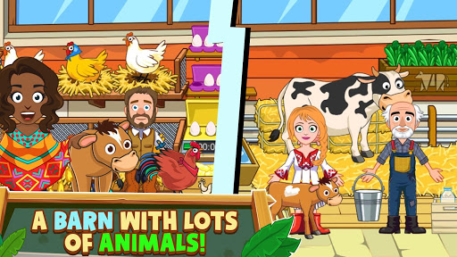 My Town : Farm Life Animals Game  for Kids Free 1.07 screenshots 11