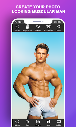 Body Builder Photo Suit (Six pack abs editor) android2mod screenshots 5