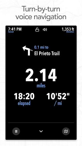 Footpath Route Planner - Running, Hiking, Bike Map  Screenshots 3