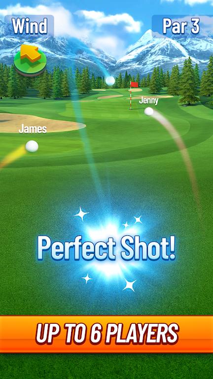 Golf Strike poster 1