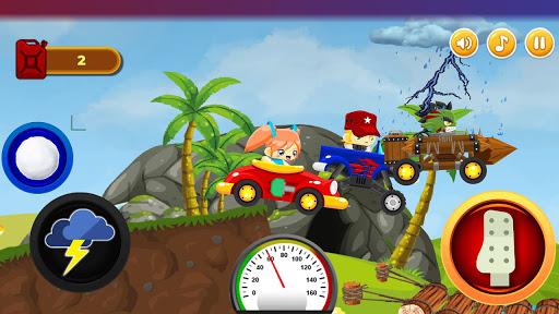 Code Triche Mini Fun Climb Race - Platform Car Racing Games (Astuce) APK MOD screenshots 2