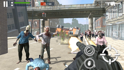 Télécharger Dead Zombie Battle (Green Blood Version) APK MOD (Astuce) screenshots 3
