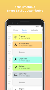 My Classes - Timetable and Study Planner