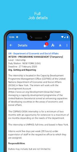 un & ngo jobs screenshot 3
