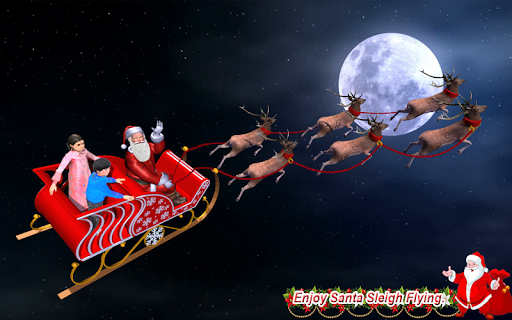 Christmas Flying Santa Gift Delivery apkdebit screenshots 2