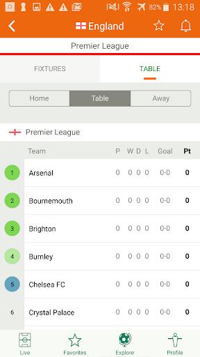 Futbol24 u2013 soccer live scores & results 2.46 Screenshots 4