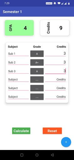 GPA Calculator screenshot 6