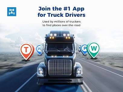 Trucker Path: Truck GPS Truck Stops Weigh Stations 8
