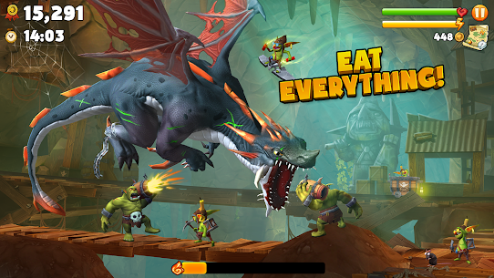 Hungry Dragon MOD APK (Unlimited Coins) 2