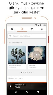 SoundCloud: müzik & audio Screenshot