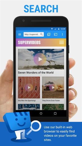Web Video Cast | Browser to TV/Chromecast/Roku/+ 5.1.12 Screenshots 1