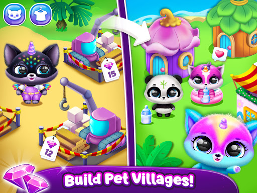 Fluvsies Pocket World - Pet Rescue & Care Story apkpoly screenshots 15