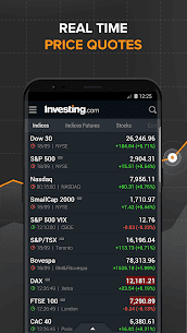 Download investing com App for android, iphone 1