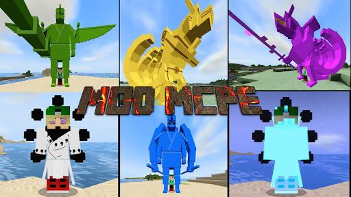 Mod Anime Heroes u2013 Mod Naruto for Minecraft PE 1.0.0 Screenshots 4