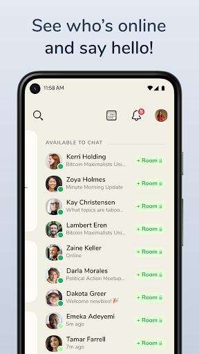 Clubhouse: The Social Audio App apkdebit screenshots 3