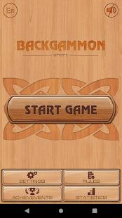 Backgammon 2.46 screenshots 1