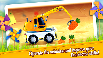 Cars in Sandbox (app 4 kids)