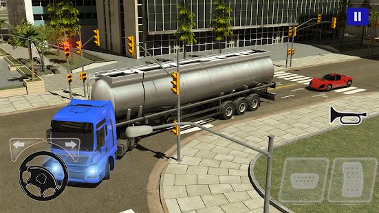 Europa Truck Driving Simulator 2021 1.0.8 screenshots 1