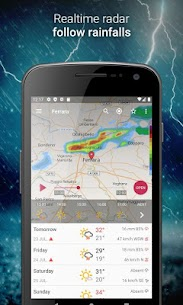 3B Meteo – Weather Forecasts – Mod + Data for Android 2