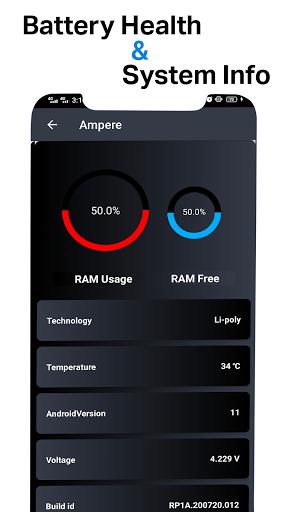 Ampere Meter - Fast Charging screenshots 2