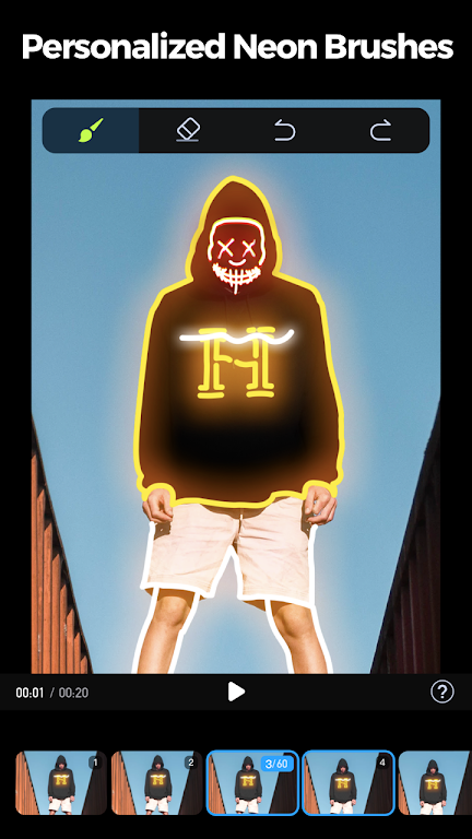 GoCut - Glowing Video Editor poster 1