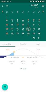 Persian Calendar 6.4.1 Apk 1