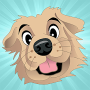 TuckerMoji - Golden Dog Stickers by Tucker Budzyn