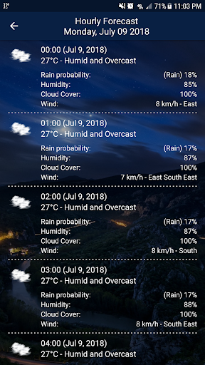 Weather - Weather Real-time Forecast 1.3 Screenshots 4