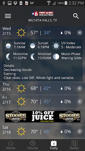 KSWO First Alert 7 Weather modavailable screenshots 3