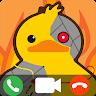 Pato Horneado Video Call : Fake Video Call app apk icon