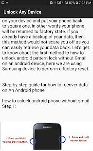 Unlock Device's Techniques & Tricks 2021