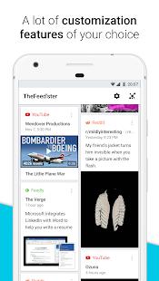 Feedster - News Feeds, Multi Social Media