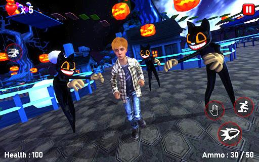 Scary Cartoon Cat Horror Game : Gangster Cat Mod 1.3 screenshots 2