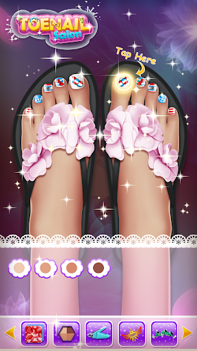 ud83dudc85Princess Nail Makeup Salon2 - Beautiful Toenail  screenshots 14