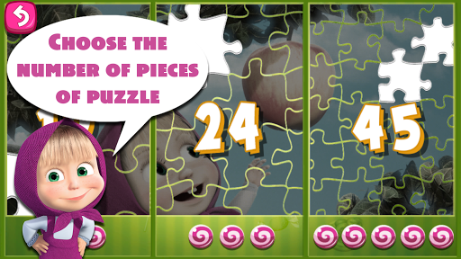 Masha and The Bear Puzzle Game 2.7 screenshots 17