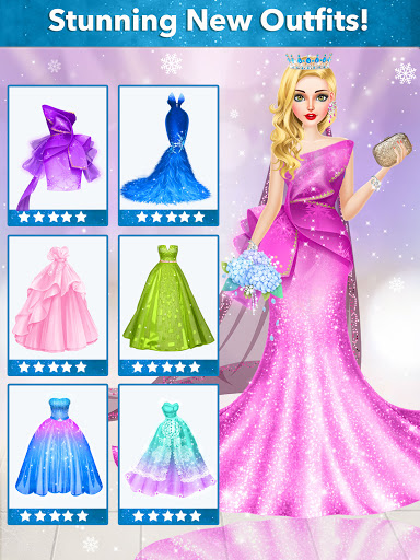 Ice Princess Wedding Dress Up Stylist 0.11 screenshots 9
