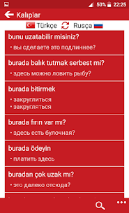 Turkish – Russian : Dictionary & Education 5.2 Mod + Data for Android 3