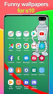 Lustige Wallpaper Für S10 Kerbe Screenshot