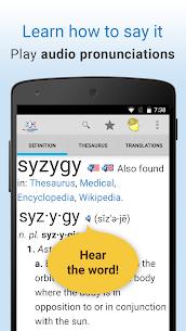 Dictionary Pro APK by TheFreeDictionary.com – Farlex 4